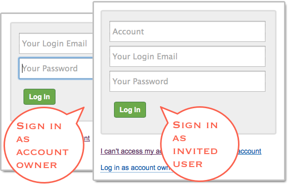 Multiuser accounts with FormSmarts online form builder